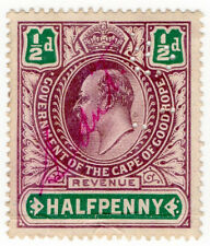 (I.B) Cape of Good Hope Revenue : Stamp Duty ½d