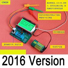 2016 EZM328(GM328R)transistor tester/ ESR / frequency meter / square wave genera