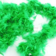 Soft Feather Dressup Dress Costume Wedding Party Decor Accessories Green