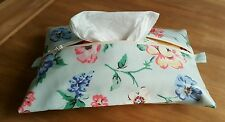 Baby Wipes/Wet Wipes Case/Cover in Cath Kidston 'Cavendish Rose' - Ribbon Trim