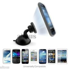 NEW UNIVERSAL MAGNET CAR WINDSHIELD SUCTION CUP MOUNT HOLDER FOR CELL PHONE MP3