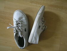 LACOSTE CHILDREN'S LEATHER SHOES SIZE UK 12