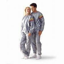 Unisex Sauna Suit Fitness Weight Loss Slimming Exercise Suit (XXL)