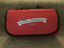 "Disney Parks ""Spectacle Of Dancing Lights"" Red Blanket"