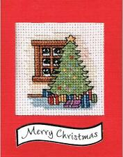 Counted Cross Stitch Card Kit 'Christmas Tree' - CSKIT19
