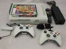 MICROSOFT XBOX 360 Games Console with 2 Games + 2 Controllers - 250