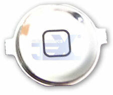 High Quality Mirror Chrome Silver Home Button for iPhone 4S/4GS 16GB/32GB/64GB