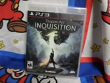 Playstation 3 Dragon Age: Inquisition Game BRAND NEW SEALED