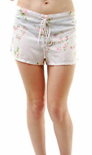 Wildfox Woman's Pink Petals Sun Shorts Multi Flower Print Size S RRP £61 BCF65