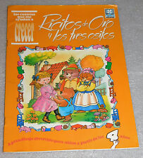 Ricitos de Oro y Los Tres Ositos Spanish Preschool Picture Workbook Ages 4-6