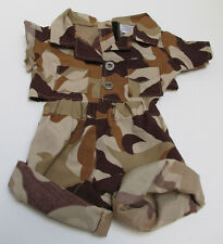 Build-A Bear Outfit - Military Camo Shorts, Shirt & Hat