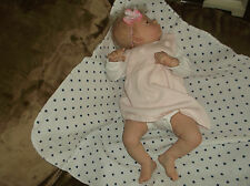 "Reborn Doll ""Harlow"" by L. T. Ross, with COA"