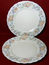 "ARCOPAL France CHAMPETRE pattern Salad or Dessert Plate - 7-3/4"" Set of Two (2)"