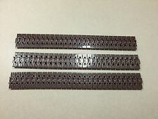 LEGO Technic Track Tread Link lot of 3 Feet Brown XL Mindstorm Treads O252