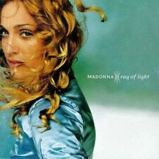 MADONNA- RAY OF LIGHT – CD (1998) 13 TRACKS: FROZEN, NOTHING REALLY MATTERS ETC
