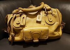 Genuine Vintage Mustard Chloe Paddington Handbag