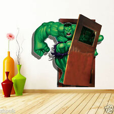 THE INCREDIBLE HULK Marvel Avengers Decal Removable WALL STICKER Home Decor Art