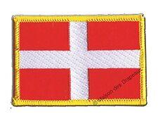 Écusson brodé drapeau FRANCE SAVOIE savoyard 5x8cm Thermocollant
