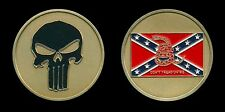 Challenge Coin - Punisher - Southern Don't Tread On Me