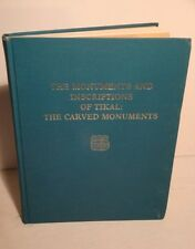 1982 Carved Monuments & Inscriptions of Tikal-Mayan Ruins-Archeology-RARE 1st