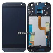 Black HTC One Mini 2 M8 Mini LCD Display Touch Screen Digitizer Frame Assembly