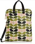 ORLA KIELY WOMENS ETC TONAL STEM FOLIAGE NYLON FOLDOVER TOTE BAG FOLIAGE