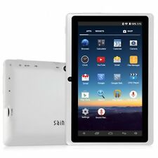 "NEW! 7"" Android 4.4 16GB HD Tablet A33 Quad Core Dual Camera Wifi Pad PC eReader"