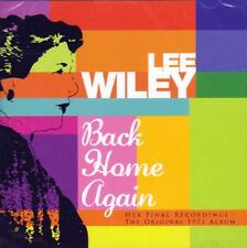 LEE WILEY - BACK HOME AGAIN (NEW SEALED CD)