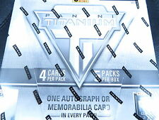 2013-14 PANINI TITANIUM HOCKEY HOBBY SEALED BOX