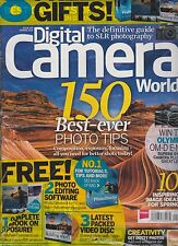 DIGITAL CAMERA WORLD MAGAZINE UK #150 SPRING 2014, WITH FREE GIFTS SEALED.