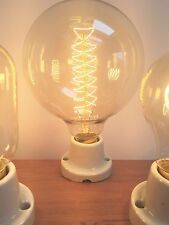 Edison Filament Bulb Light e27 Vintage Spiral Filament XL Globe Bulb Lamp