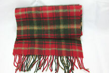 Johnstons of Elgin Plaid Unisex Warm Scarf 10 x 66  Lambswool Made in Scotland