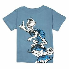 Bumkins Little Boys' Dr. Seuss Short Sleeve Comfort Toddler Tee, 3T