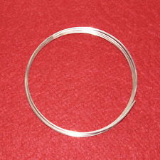 9999 Silver Wire 14 gauge -  5 foot coil (60 inches) - 99.99% Pure for Colloidal