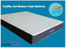 DELUXE Gel Memory Foam Mattress King single 107 X 203 cm