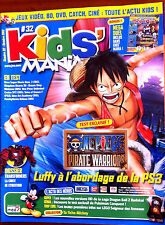 Kids Mania Magazine n°32 du 10/2012; Test One Piece PS3/ Transformers/ Blader