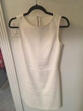 Theory White Mid Dress