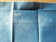 DISEGNO ORIGINALE CHASSIS 1/10 LANCIA & C. B50 B51 1950 PROMO PROSPEKT