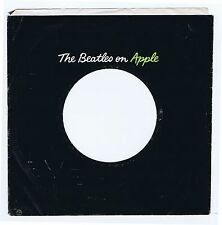 "Beatles Rare USA The Beatles on Apple 7"" 45 RPM Generic Sleeve VG+ 1968-1970"