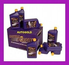 KIT ABARTH OLI ROYAL PURPLE MOTORE 5W40 5W-40 + CAMBIO 75W90 75W-90 olio 500