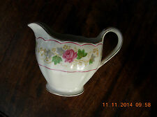 Grindley cream petal milk jug and sugar bowl