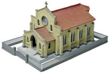 CHURCH 9th Ave BAPTIST w fence 117x72x63mm N 1/150 scale Plastic Kit Tomytec 234