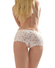 CROOTA Womens Boyshort Underwear, Seamless Low Rise Panty, Large