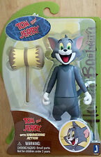 "Tom and Jerry - Tom with Hammer -  Hanna-Barbera 6"" Action Figure"
