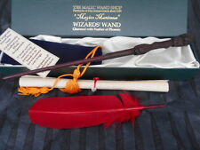 Harry Potter style Wooden Magic Wand wizard/witch red Phoenix feather FREE POST