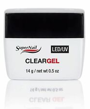 SuperNail LED/UV Clear Gel - 14 g / .5 oz (51602)