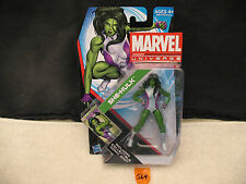 "Marvel Universe SHE-HULK 3.75"" Action Figure 012 Series 4 New 2011 HASBRO"