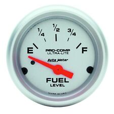 """Auto Meter 4314 Gauge Fuel Level 2 1/16"""" 0 to 90 Electric Ultra-Lite"""