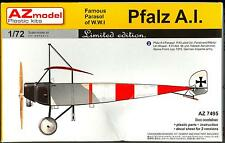 AZ Models 1/72 PFALZ A.I German & Turkish WWI Fighter