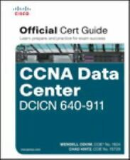 CISCO CCNA DATA CENTER DCICN 640-911 O - CHAD HINTZ WENDELL ODOM (HARDCOVER) NEW